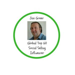 jaz greer global top 60 social selling influencer
